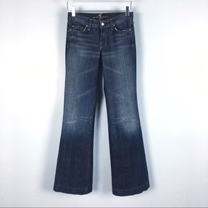 "7 for All Mankind ""Dojo"" Jeans size 25"